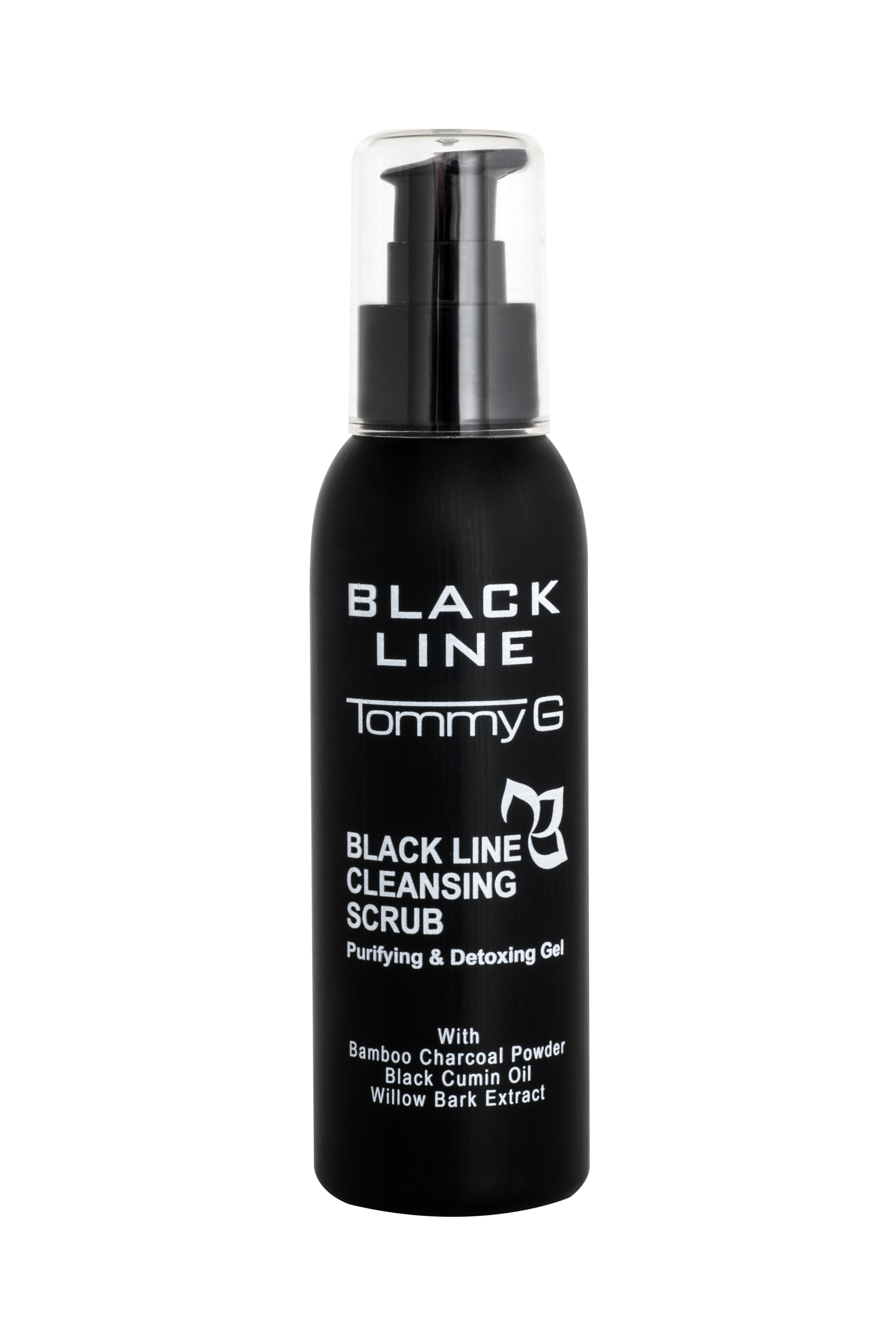 Black Line Cleansing Scrub